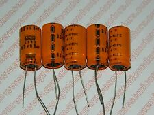 68uf 63 Volt 105 degree Radial Capacitor /  Lot of 5 pieces