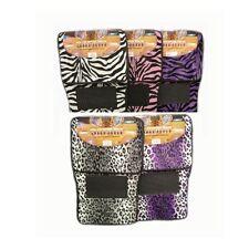 Zebra/Safari/Leopard Car Floor Mats 4pcs Set Carpet