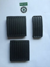 LAND ROVER DEFENDER 90, 110, 130 bearmach Pedale Pad GOMME Set x 3