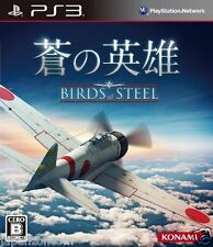 Used PS3 Birds of Steel  SONY PLAYSTATION 3 JAPAN JAPANESE IMPORT