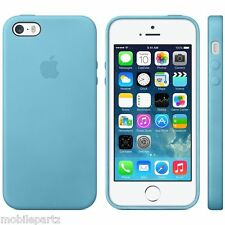 Genuine Original Leather Case Cover for Apple iPhone 5 5S SE - Various Colours