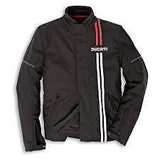 Genuine Ducati Tex 80's Jacket NOS 2010 Bargain Medium Only Was £336.91