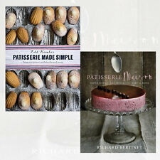 Patisserie Collection Patisserie Made Simple & Patisserie Maison 2 Books Set NEW