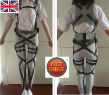 Adjustable Attack On Titan Shingeki No Kyojin Cosplay Harness Belts Straps