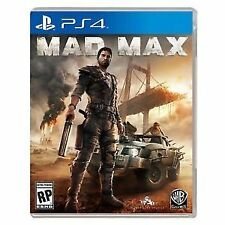 BRAND NEW SEALED MADMAX MAD MAX PS4 PLAYSTATION 4 GAME (BOX DAMAGED)
