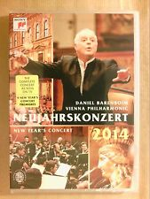 DVD CONCERT / VIENNA PHILHARMONIC / NOUVEL AN 2014 / DANIEL BARENBOIM / NEUF