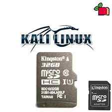 Kali Linux Preinstalled 32GB CLASS10 SD Card for Raspberry Pi A, B, B+