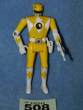 POWER RANGERS Mighty Morphin RANGER GIALLO ORIGINALE fliphead + PISTOLA