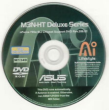 ASUS M3N-HT DELUXE Motherboard Drivers Installation Disk M1349