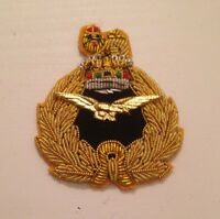 RAF Air Officer Beret Badge, Embroidered, Royal Air Force, R.A.F, Cap, Military
