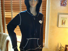 NWT TRUE RELIGION Arrowhead  HOODIE Large  NAVY  Sparkles/Studded $165
