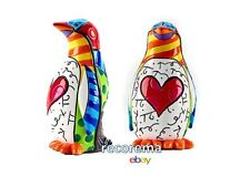 ROMERO BRITTO MINI FIGURINE: PENGUIN  ** NEW ** GIFT BOX
