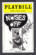 Peter Gallagher Signed Playbill from the Broadway show Noises off