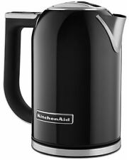 KitchenAid Stainless Steel Electric Variable Temp Water Kettle KEK1722OB Black