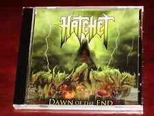 Hatchet: Dawn Of The End CD 2013 Salem Rose / The End Records USA TE306-2 NEW