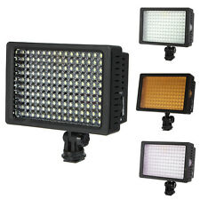 Pro HD-160 LED Video Light Lamp For DSLR Camera DV Camcorder