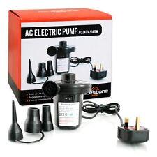 Electric Air Pump Inflator Camping Bed Mattress Pool  240V Mains Airpump