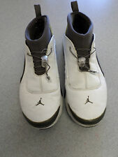 "2002 Nike  Air Jordan ""Retro Low"" white and black basketball shoes. Men's 12"