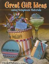 Great Gift Ideas Using Scrapbook Materials