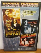 Impact/Quicksand Double Feature DVD
