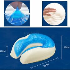 U Shaped Gel Traveling Memory Foam Cooling Pillow Neck Cervical Support Pad