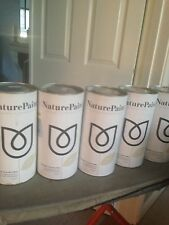 5 tins of nature paint 2/12 ltres pipit