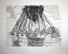 David SALLE. Grabado Original -The Raffael suite V- Firmado y numerado a mano