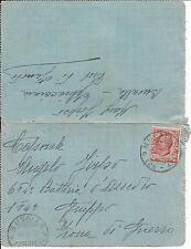 18-8-1918 c. 10 LEONI ISOLATO SU BIGLIETTO POSTALE INDIRIZZATO IN ZONA DI GUERRA