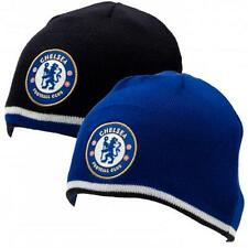 Chelsea Knit Hat/Beanie/Toque - Reversible Navy/Royal - Official Merchandise