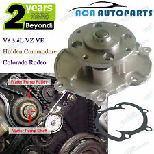 Water Pump Holden Commodore Colorado Rodeo 3565cc HFV6 V6 3.6L VZ VE Coolant New