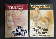 Grace Livingston Hill 2 In 1 Hardcover Books Lot Of 2 Christian Herald