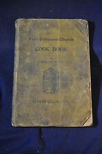 1903 Schenectady First Reformed Church Cookbook