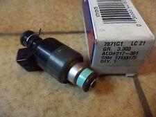 n°gm71 injecteur camaro firebird 17113175 neuf