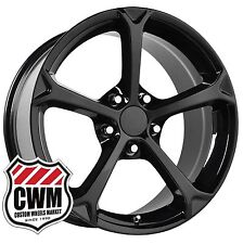 18 inch OE Performance 130B Corvette Grand Sport Black Wheels Rims fit C4 84-87