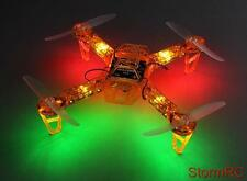 RC FPV250 V4 Orange Ghost Edition LED Night Flyer FPV Quad Quadcopter UK Seller