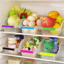 1x Kühlschrank Lebensmittel Frisch Gestochen Scharfen Rack Container Storage Box