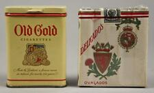 Old Gold & Deligados Cigarette Containers Tobacco Lot 240