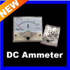 Analog Current Panel Meter DC 20A 85C1 AMP Ammeter I