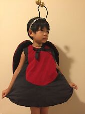 Beastly Buddies Children Ladybug Halloween fancy Costume Size 2 $80