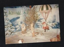 Old Vintage Photograph Cute Decorations Under the Christmas Tree