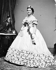 New 8x10 Photo: First Lady Mary Todd Lincoln, Wife of President Abraham Lincoln