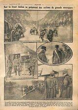 Generale Marini  General Vittorio Italico Zupelli Italia Italy Austria WWI 1916