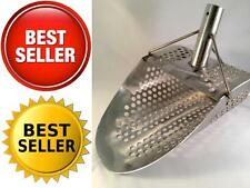 Metal Detecting Sand Beach Stainless Steel Scoop Tool Genuine Detector Water New