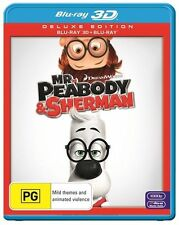 Mr Peabody and Sherman (3D) Blu-ray Disc NEW