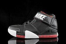2004 Nike Zoom LeBron 2 II Black Red White Size 15. 309378-011 1 3 4 5 6