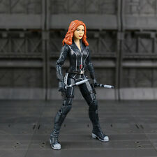 Marvel Captain America Civil Black Widow PVC Action Figure Collectible Toy