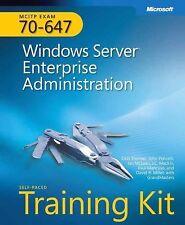 MCITP Self-Paced Training Kit (Exam 70-647): Windows Server Enterprise Admini..