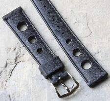 Short length 16mm Tropic strap type rubber watch band 1960s/70s NOS 18 sold here