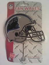 "Carolina Panthers 5"" Car Window Fan Wave NFL NFC Newton Stewart Olsen Ginn"