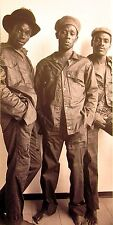 MIGHTY DIAMONDS clipping Rastafari reggae B&W photo 1960s Donald Shaw trio